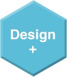 《デザイン・プラス》ロゴマーク