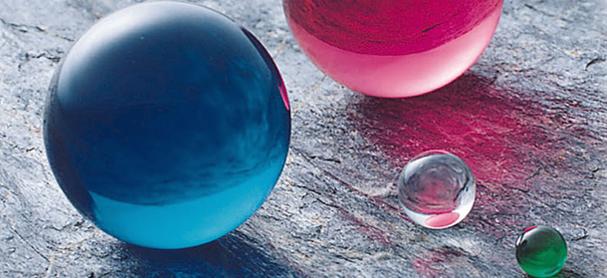 エンジニアリングプラスチック球(アクリル球)
