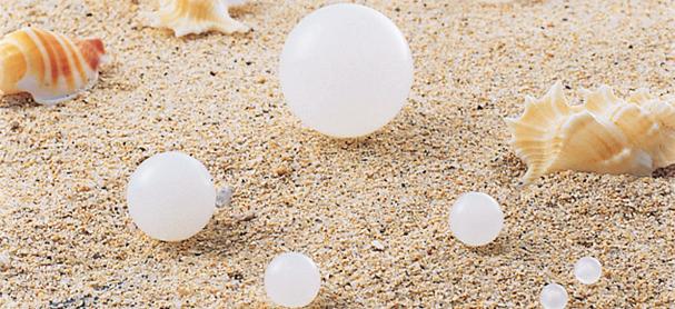 エンジニアリングプラスチック球(ポリプロピレン球)