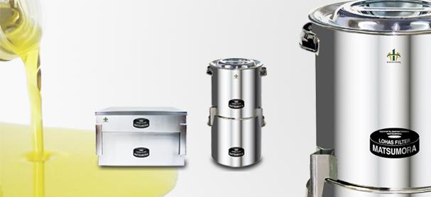 ロハス・フィルター油濾過器