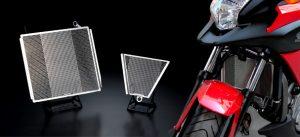 オートバイ用 ラジエターコアガード