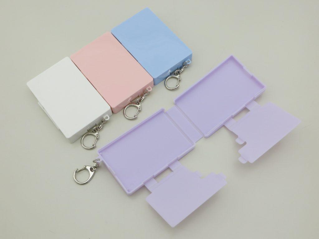 折りたたみ式携帯マスクケース