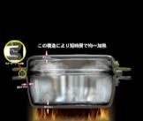 「アルミ合金製無水調理鍋 POD+PAN」の特長画像_03